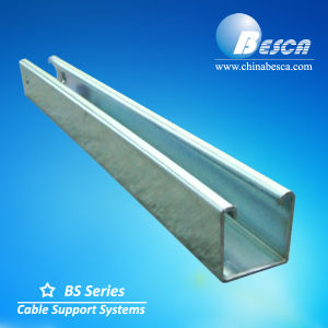 Hot DIP Galvanised Strut Channel with UL and CE Listed Manufacturer