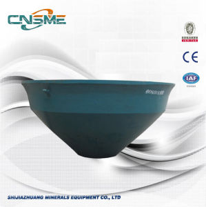 Stable Cone Liner with High Manganese Steel for Crusher pictures & photos