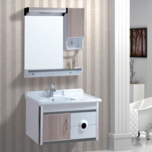 Wall Design Bathroom Cabinet Vanity with Single Sink pictures & photos