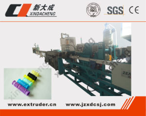 High Speed Inline Cyclindrical/Round Dripper Irrigation Pipe Production Line pictures & photos