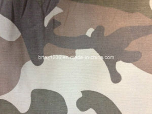100% Cotton Twill Camouflage Fabric for Garments