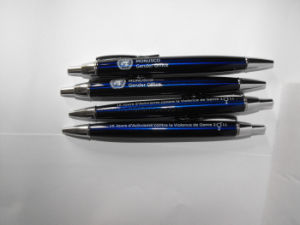 United Nation Logo Branded Corporate Executive Business Gift Metal Pen pictures & photos