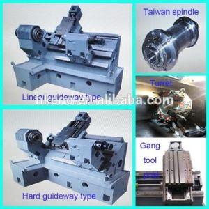 Siemens Control System Slant Bed CNC Lathe (CK-40L) pictures & photos