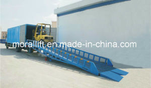 Mobile Hydraulic Truck Loading Ramp pictures & photos