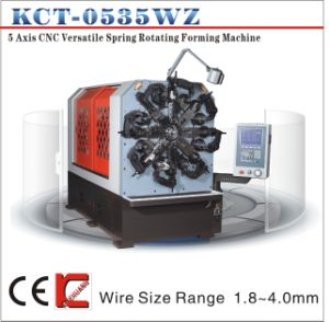 1.2-4.0mm 5 Axis CNC Wire Bending Machine with Wire Rotation pictures & photos