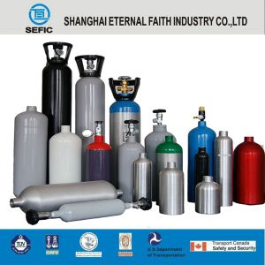 O2 N2 Ar H2 CO2 Steel Gas Cylinder pictures & photos