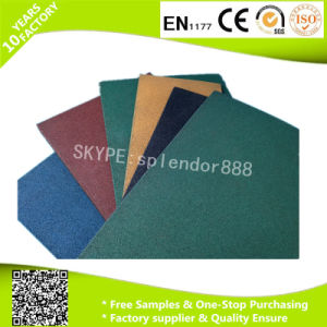 Cost Price Reclaimed Rubber Playground Flooring Mats pictures & photos