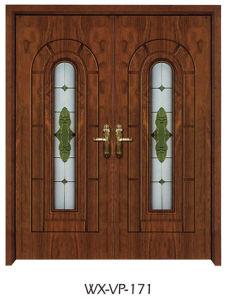 Competitive Wooden Door (WX-VP-171) pictures & photos