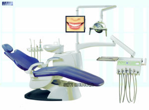 Dental Chair Complete Set with LED Operating Light pictures & photos