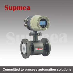 Small Pipe Electromagnetic Flowmeter Sewage Flowmeter Controller Stainless Steel 316 Electromagnetic Flowmeter pictures & photos