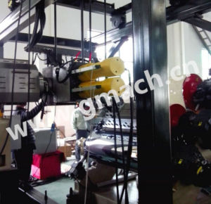 Double Piston Type Continuous Screen Changer for Plastic Blowing Machinhery pictures & photos