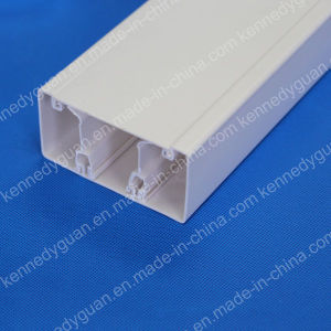White Plastic Cable Trunking pictures & photos