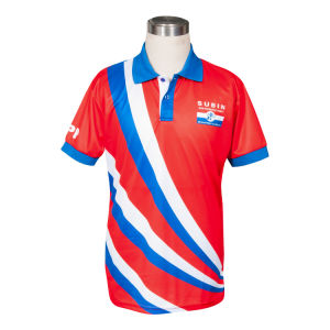 Sublimation Printing Dry Fit Polo Shirt