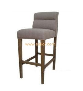 (SD-1011B) Modern Hotel Restaurant Furniture Wooden High Barstool Bar Chair pictures & photos