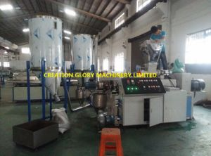 High Production Capacity Filler Master Batch Plastic Extruding Pelletizer pictures & photos
