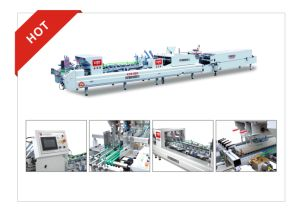 Xcs-980 Packing Paper Box Folding Gluing Machine pictures & photos