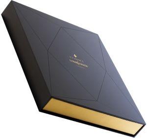 Black Book Shape Cardboard Paper Hat Box (TW-PB0019)