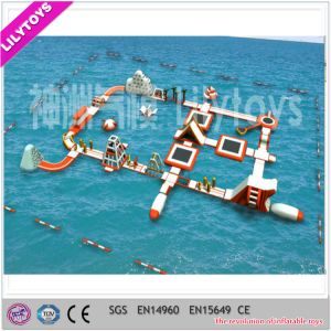 Hot Sale Inflatable Aqua Floating Water Fun Park pictures & photos