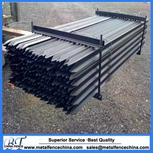 China Manufacturer Wholesale Price Metal Black Y Picket Post pictures & photos