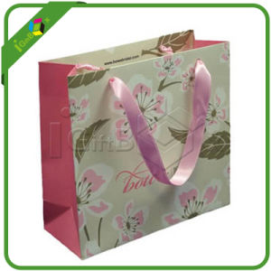 Delicate Paper Gift Bags with Handles for Shopping Packaging pictures & photos