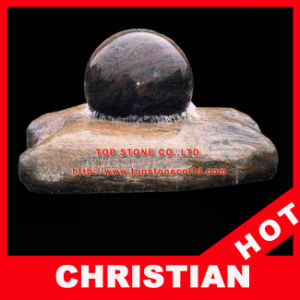 Rolling Sphere Fountain Stone Ball Fountain Granite Ball Fountain pictures & photos