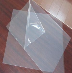 Thermoforming Silicon Coated Transparent Pet Rigid Sheet pictures & photos