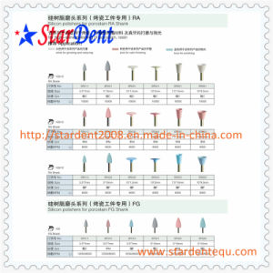Bullet Shape Rubber Dental Polisher of Dental Equipment pictures & photos