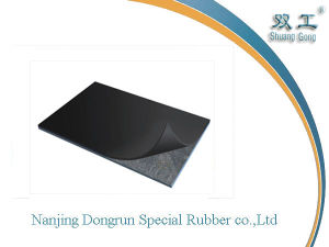 2-50mm Thickness Insertion Rubber Sheet Cotton Nylon Rubber Flooring