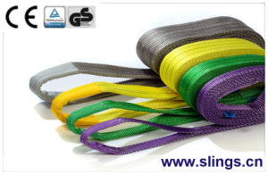1t-12t Sf 5 6 7 100% Polyester Safety Belt with Ce GS Certificate pictures & photos