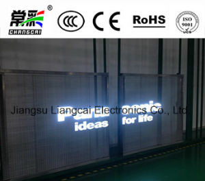 P10 Full Color Glass/Transparent LED Display Screen