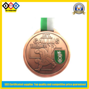 Sports Medal with 2 Color Ribbon (XYH-MM029)