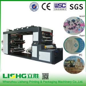 Ytb-4800 PE Film Flexo Printing Machine pictures & photos