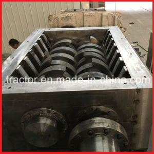Double Shafts Waste Aluminium Extrusion/Cans/Bars/Plates/Profile/Sheets Crusher Machine pictures & photos