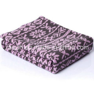 Snowflake Fleece Blanket Gift Blanket for Wholesale pictures & photos