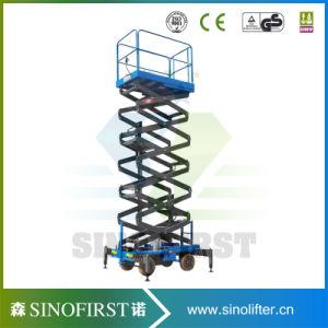 6m 10m 12m Automatic Self Driven Scissor Lift Platform pictures & photos