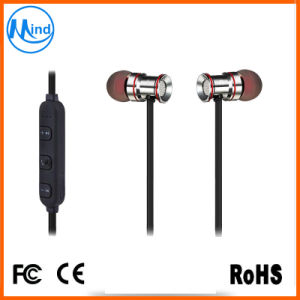 Mini Sport Bluetooth Headset Earphone with Magnetic Attraction pictures & photos