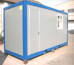 Portable Folding Container House for Herdsman pictures & photos