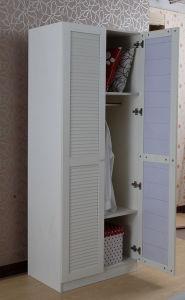 White Modern Style Wardrobe Design Agw-022 pictures & photos