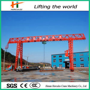 Best Quality Single Girder Gantry Crane with Hoist pictures & photos