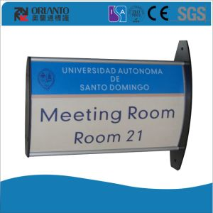 Aluminium Curved Door Wall Mounted Sign pictures & photos