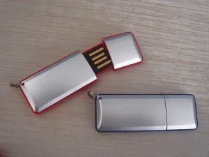 Aluminum USB Flash Memory 1GB pictures & photos