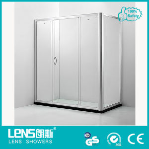 6mm Tempered Glass Sliding Door Shower Room Moloch E41