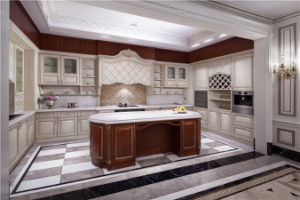 Solid Wood Kitchen Furniture Wb-0668, Kitchen Cabinet pictures & photos