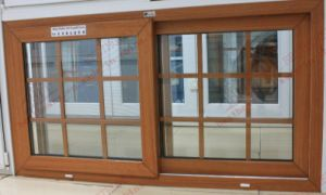 Low-E Glass European PVC Sliding Window (BHP-SW09) pictures & photos