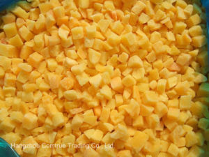 IQF Yellow Peach Dices
