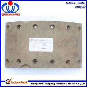Free Sample, High Performance Drilling Brake Lining for Truck