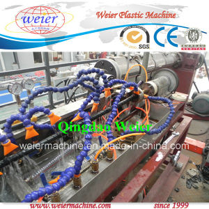 HDPE Spiral Wrapping Band Extrusion Line pictures & photos