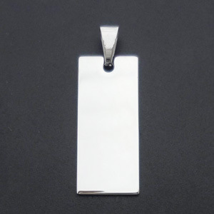 Stainless Steel Tags for Bracelets DIP in Silver Jewelry pictures & photos