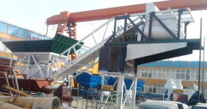 Hot Salemobile Concrete Batching Plant (YHZS 25) pictures & photos