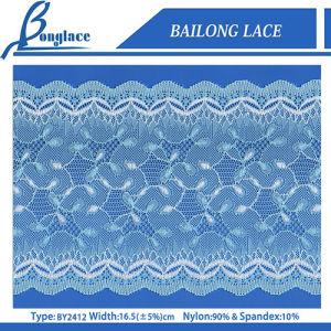 16.5cm Scalloped Lace Trims for Lingerie/Apparel Accessories